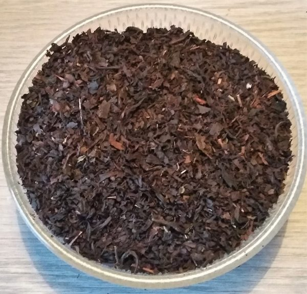 zwarte thee met bosvruchten